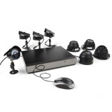 Zmodo 8CH CCTV Security Camera System & 8 600TVL Sony CCD Cameras