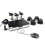 Zmodo 8CH Home Video Surveillance System & 8 600TVL Sony CCD Cameras