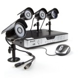 Zmodo 8CH Home Video Security System & 4 600TVL Sony CCD Cameras