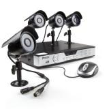 Zmodo 8CH Home Video Security System & 4 600TVL Sony CCD Cameras