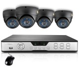 Zmodo 8CH CCTV Video Security System & 4 600TVL Sony CCD Dome Cameras