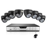 Zmodo 8CH Dome Security Camera System & 8 600TVL Sony CCD IR Cameras
