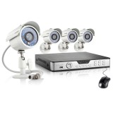 Zmodo 8CH Hi-Reso Video Surveillance System & 4 700TVL Outdoor Cameras
