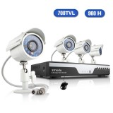 Zmodo 4CH 960H DVR Security System 1TB HDD & 4 700TVL Cameras