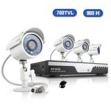Zmodo 4CH 960H DVR Security System 1TB HDD & 4 700TVL Cameras