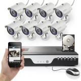 Zmodo 8CH 960H Video Security System with 1TB & 8 700TVL IR Camera