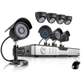 Zmodo 16CH DVR Surveillance System with 8 600TVL Security Camera