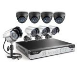 Funlux 8CH 960H CCTV Surveillance System, P2P, QR-Code Remote Access, 8 600TVL Cameras