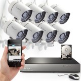 Funlux 8 CH sPoE NVR Security System with 500GB Hard Drive