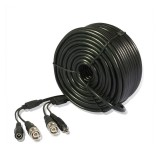 99ft AWG22 Premade Siamese CCTV Video + Power Cable