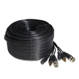 98ft AWG22 Premade Siamese Video + Power + Audio Cable