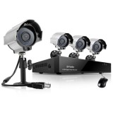 Zmodo 8 Channel CCTV Video Security System w/ 4 600TVL Outdoor Camera