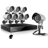 Zmodo 8CH Hi-Reso DVR System & 8 600TVL Weatherproof Day Night Camer