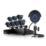 Zmodo 8CH Home Surveillance System & 8 600TVL Outdoor Security Cameras