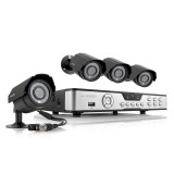 Zmodo 8 Channel Outdoor Surveillance Camera System & 4 600TVL Cameras