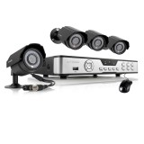 Zmodo 4 Channel DVR Security System with 4 600TVL Outdoor Cameras