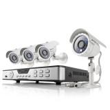 Zmodo 4 Channel Home Surveillance System & 4 Outdoor 600TVL IR Cameras