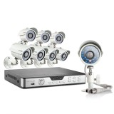 Zmodo 8CH Hi-Reso Video Surveillance System & 8 700TVL Outdoor Cameras