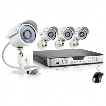 Zmodo 8CH Hi-Reso Video Surveillance System & 4 700TVL Outdoor Cameras