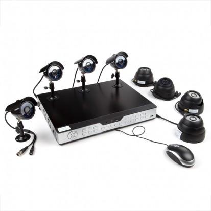 Zmodo 16CH Home Surveillance Camera System & 8 600TVL Sony CCD Cameras