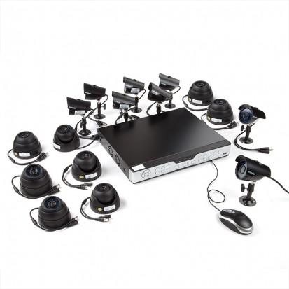 Zmodo 16CH Video Security System & 16 600TVL Sony CCD Security Cameras