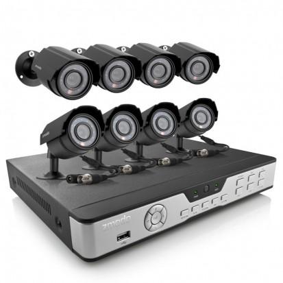 Zmodo 8 Channel Security Camera System & 8 600TVL Night Vision Cameras